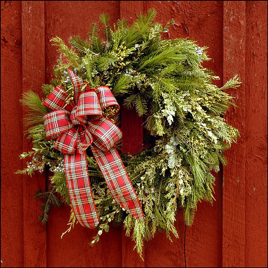 Tapestry Wreath
