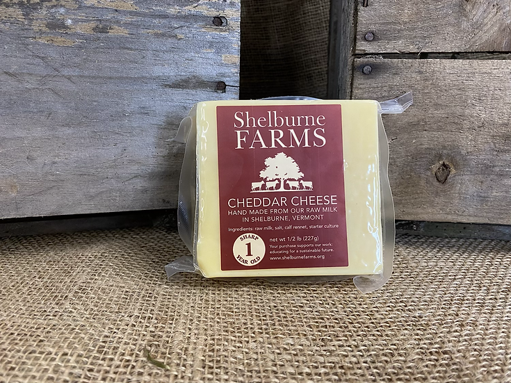 Shelburne Farms 1 Year Old Sharp Cheddar Cheese