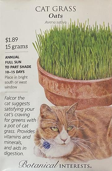 Botanical Interests - Cat Grass Oats