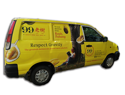 99 Old Trees delivery Van