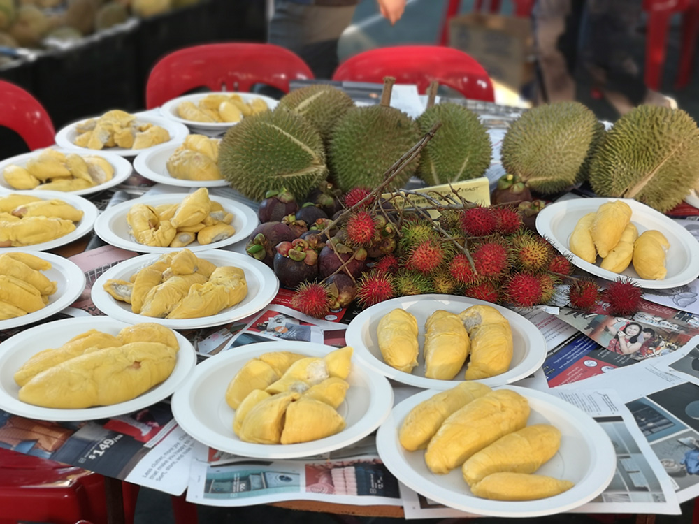 Fruit Glore. Durian and Tropical fruits