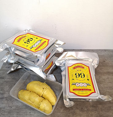 frozen vacuum seal mao shan wang durian