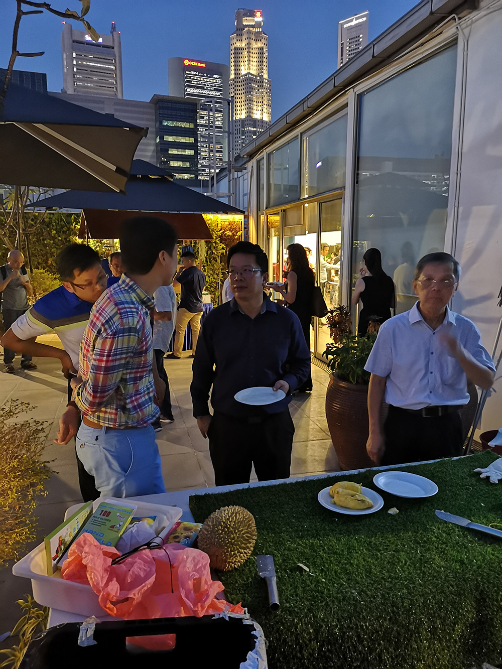 Rooftop Durian party