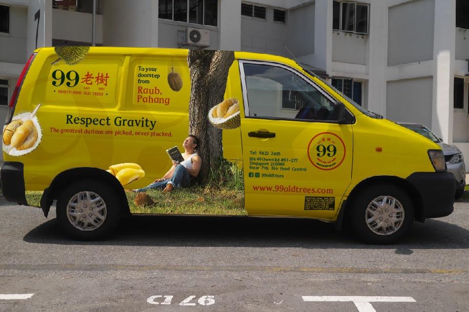 99 Old Trees Delivery Van