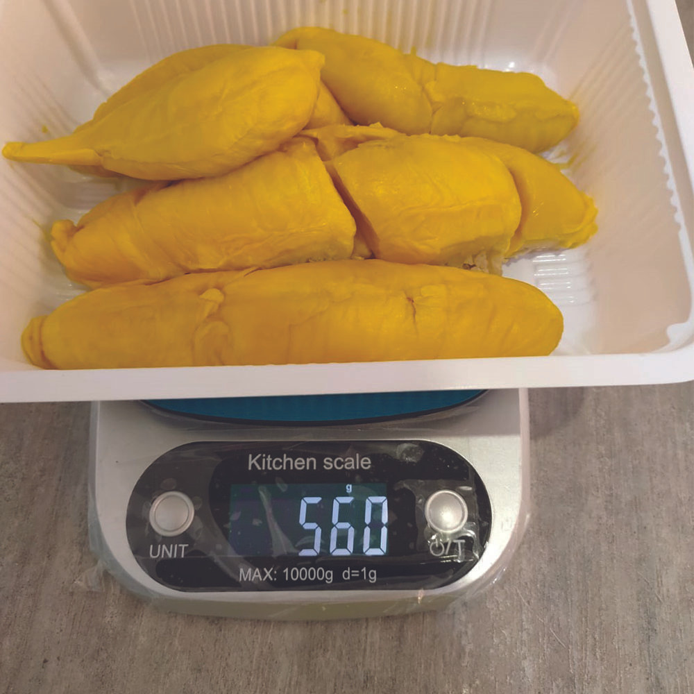 Box of durian