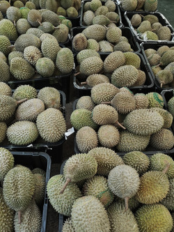 Just lots of durian