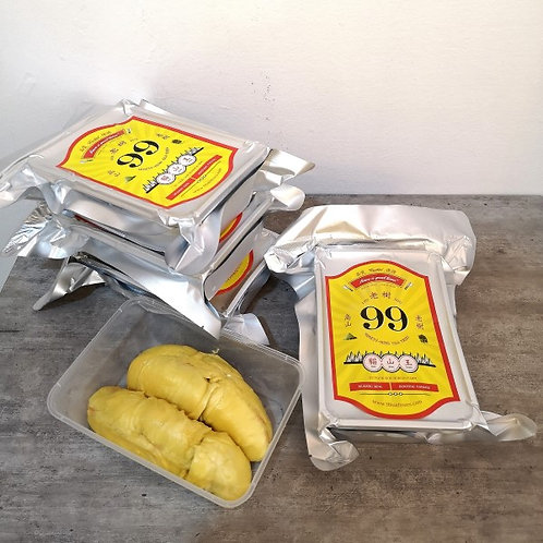 4 Boxes - Frozen D197 Mao Shan Wang 4 x 500grams flesh. Suitable for flight