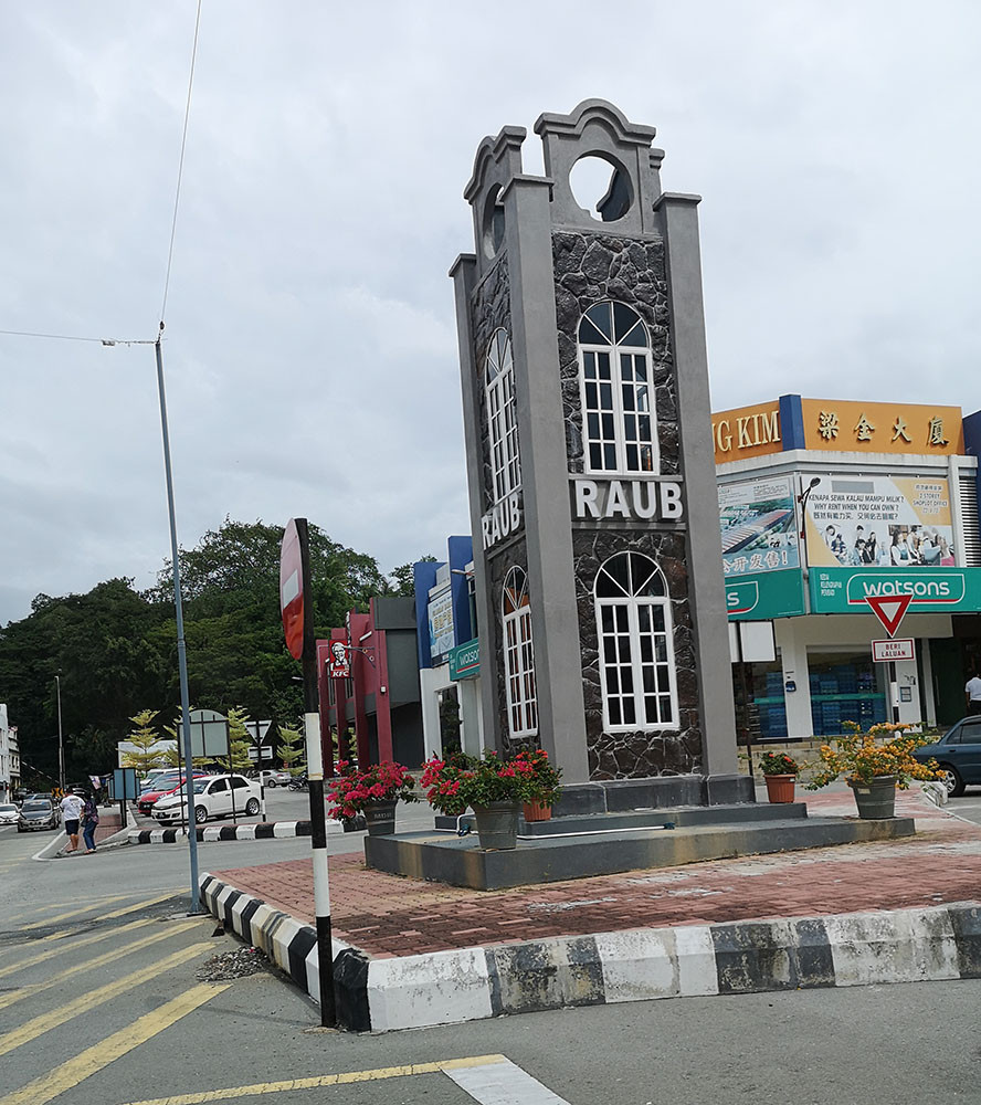Raub district central