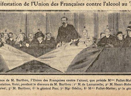 Dimanche, le 28 janvier 1917 - UFCA au Trocadéro
