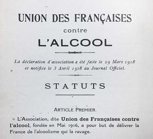 Union des Françaises contre l'alcool