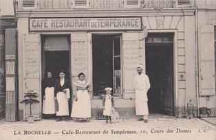 Café-restaurant de tempérance - La Rochelle