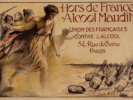 Hors de France, alcool maudit !