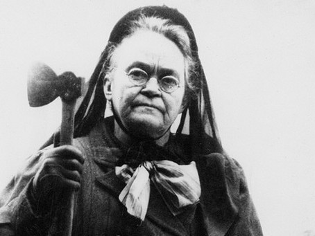 Carrie Nation, la dame à la hache