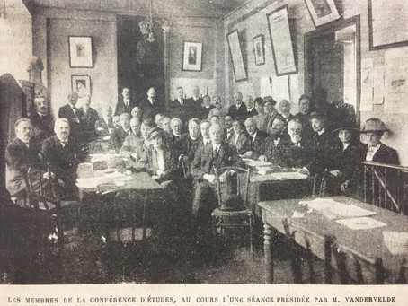 3-5 avril 1919, Paris - Conférence internationale d'études contre l'alcoolisme