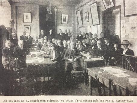 3-5 avril 1919, Paris - Conférence internationale d'études contre l'alcoolisme