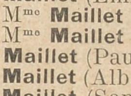 Maillet, une famille militante