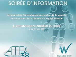 Soirée d'information au cabinet de kinésithérapie - 23.06.2017 à Brignoles