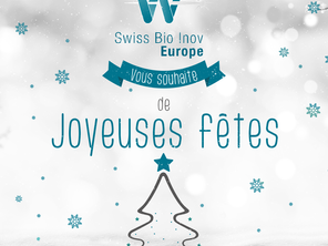 Swixx Bio Inov Europe vous souhaite de Joyeuses fêtes !