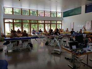 Présentation de l'ATP38 aux étudiants de la Haute Ecole de Santé en Suisse.