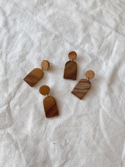 Sunrise Maple Earrings
