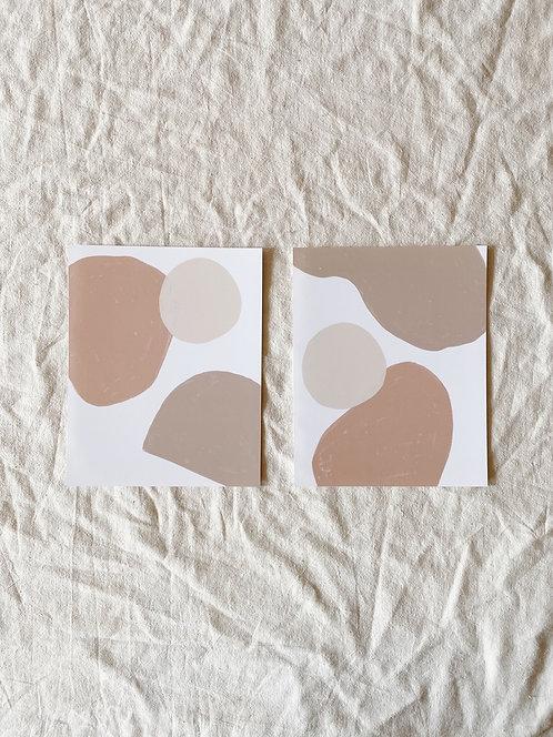 Joshua Print Shop Neutral Shape Prints