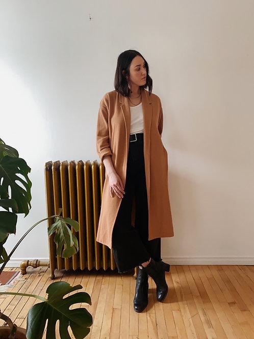 Caramel Knit Jacket   L/XL