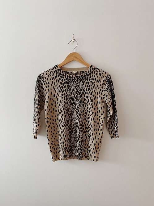Leopard Sweater | XS