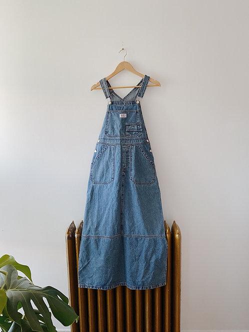 Smith's Denim Overall Dress | S/M