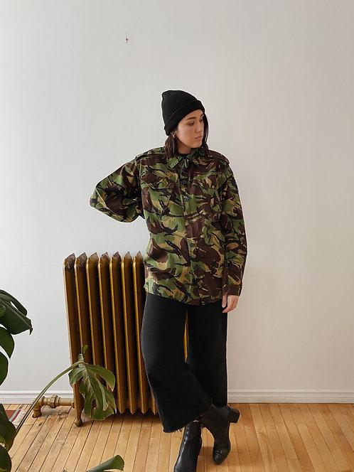 Camo Army Shirt | XL