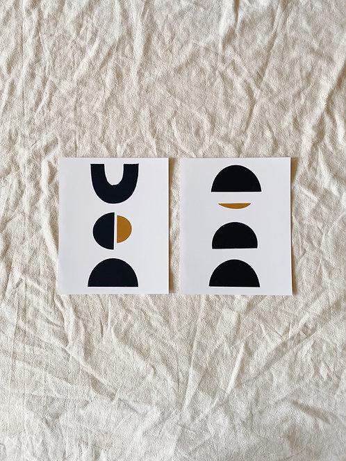 Joshua Print Shop Black Form Prints