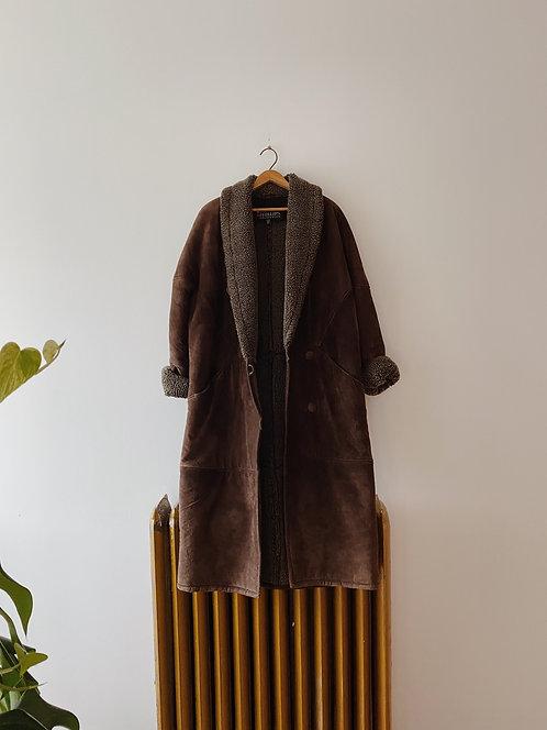 Brown Suede Jacket | L