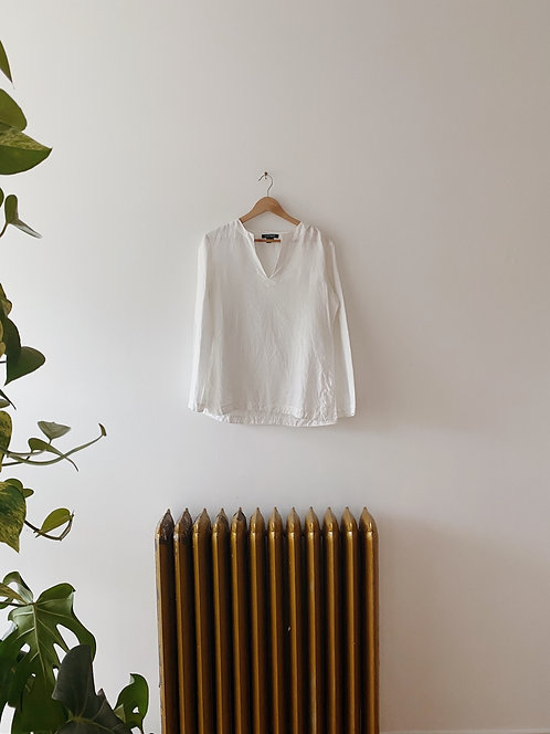 White Linen Tunic | M