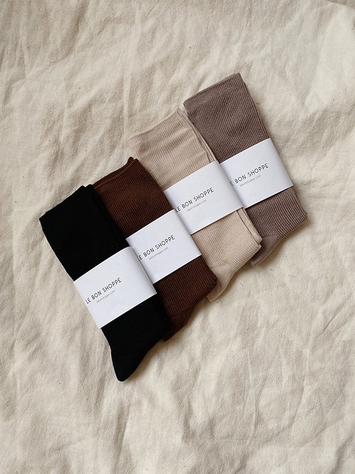 Le Bon Shoppe Trouser Sock