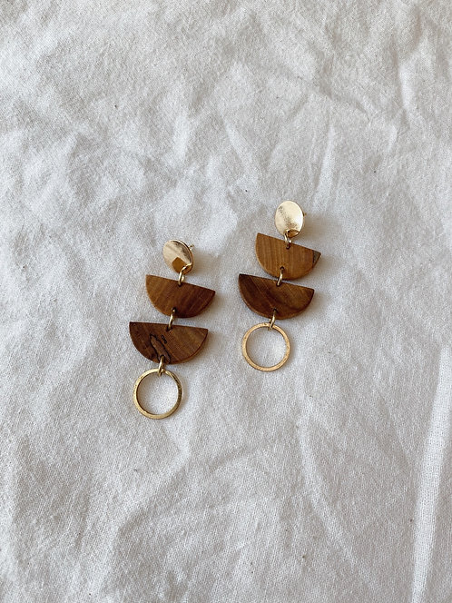 Maple & Gold Earrings