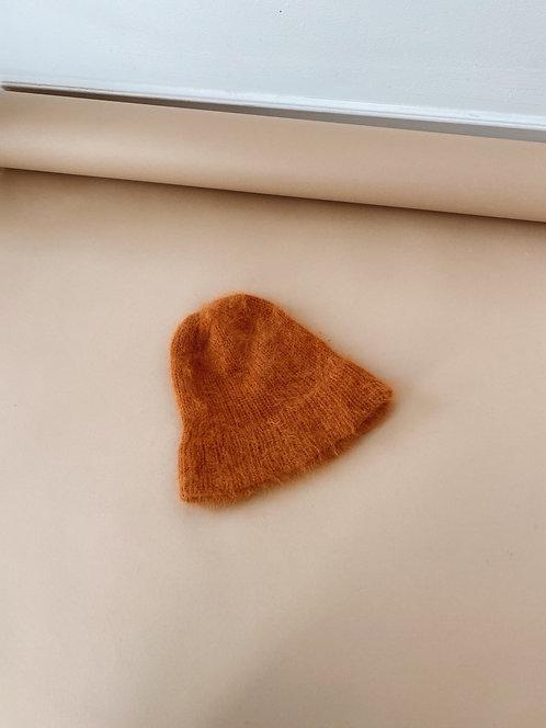 Butternut Angora Crochet Toque