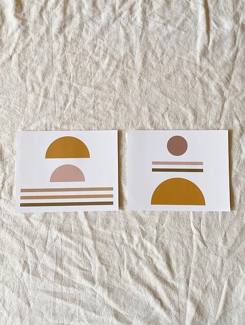 Joshua Print Shop Sunrise/Sunset Prints