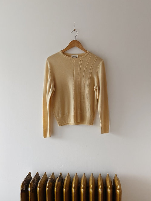 Buttercup Lambswool Sweater | S