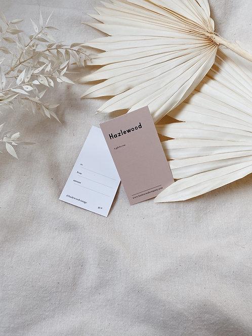Hazlewood Gift Card