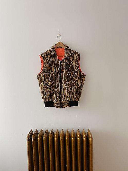 Reversible Camo Hunting Vest | L