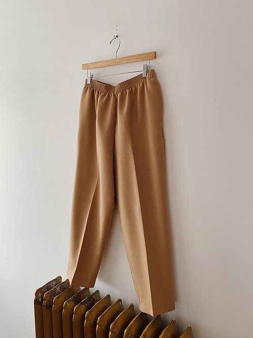 Caramel Easy Trousers | 28