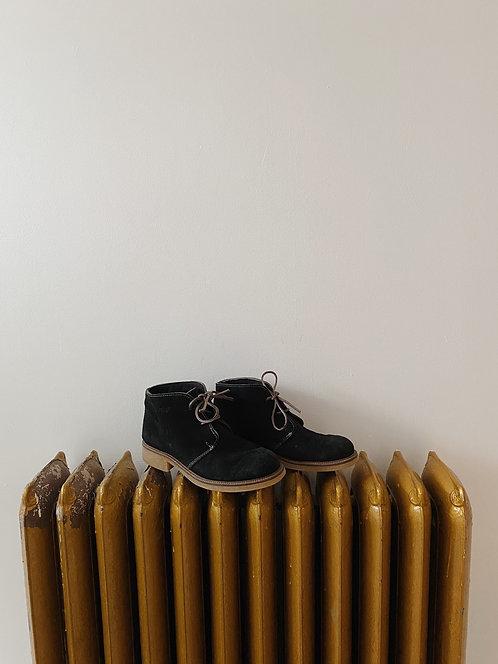 Black Suede Desert Boot | 9.5