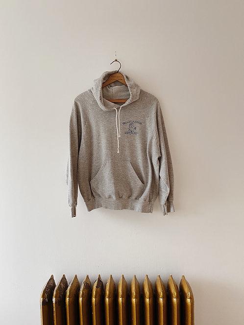 Mustangs Heather Grey Sweater | M