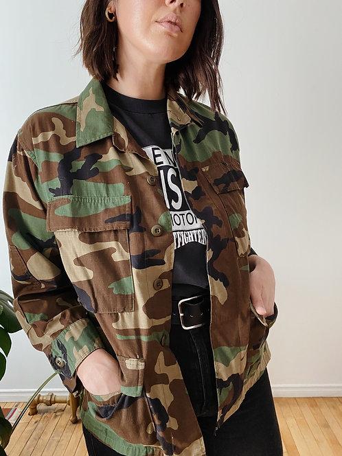 Woodland Camo Jacket | M
