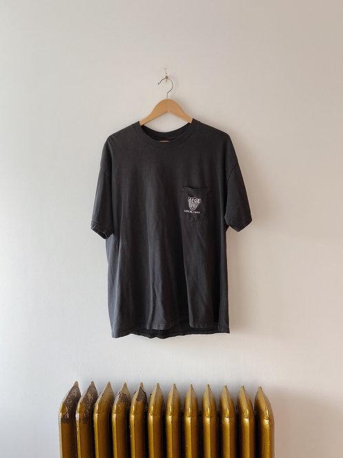 Worn Black Union Pocket Tee | XL
