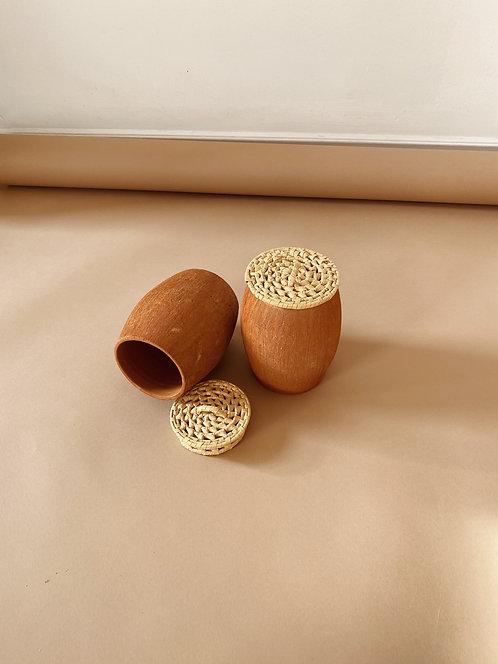Set Of Terracotta Clay Pots
