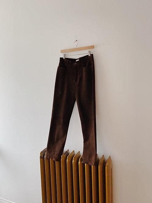 Chocolate Suede Esprit Pants | 30