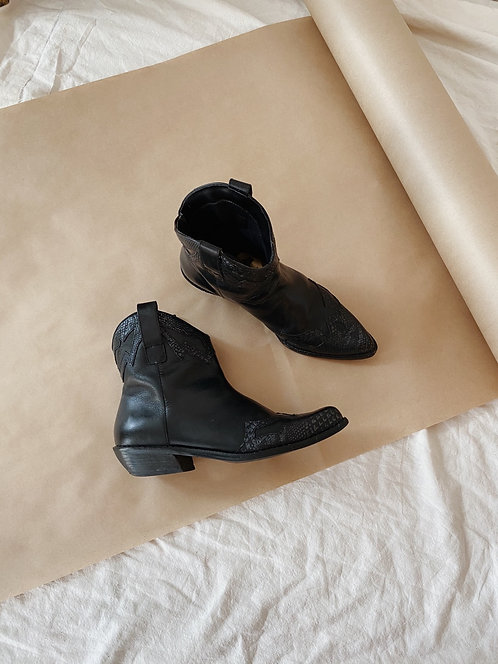 Black Western Boots | 6.5