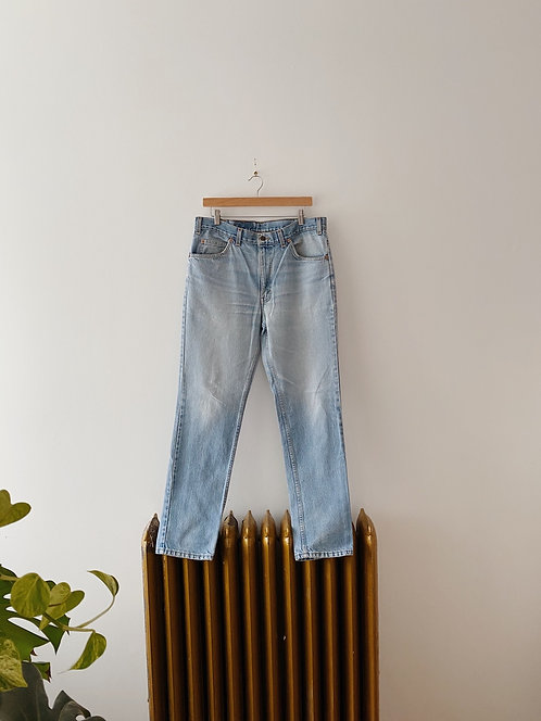 Vintage Light Wash Levi's Denim | 34