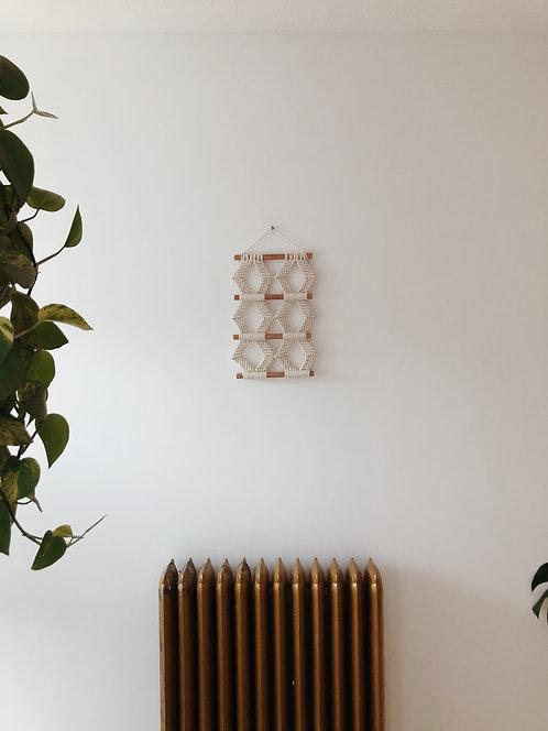 Joyweave Triple Diamond Macrame Hanging