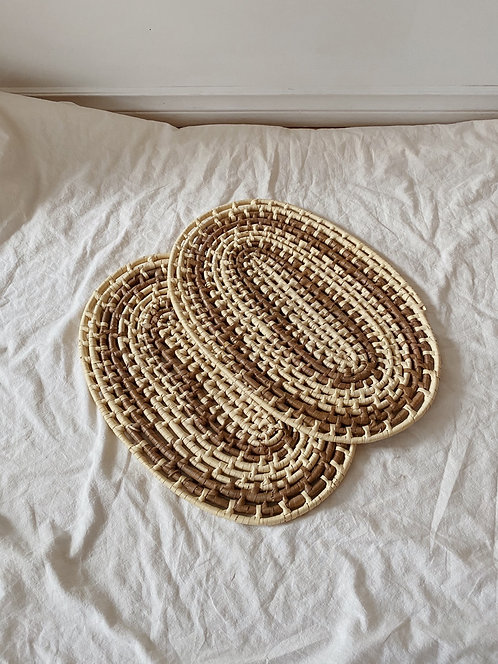 Wicker Placemats | Set of 2
